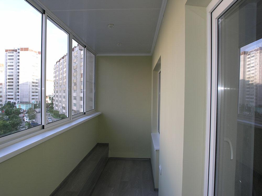 Теплое остекление (утепление) балконов и лоджий под ключ в е.