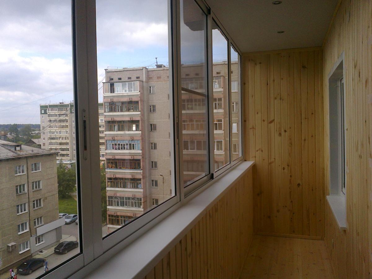 Застеклить балкон или лоджию в екатеринбурге под ключ по низ.